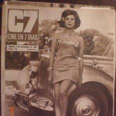 Cine: CINE EN 7 DIAS Nº 291 5-11-1966 MIRELLA MARAVIDI. Lote 33362405