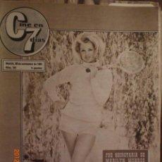 Cine: CINE EN 7 DIAS Nº 241 20-11-1965 MARGARET ROSE LEE. Lote 33362461