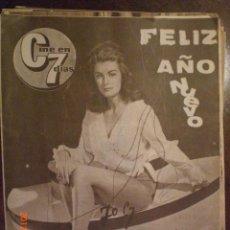 Cine: CINE EN 7 DIAS Nº 195 2-1-1965 EVE EDEN. Lote 33362472