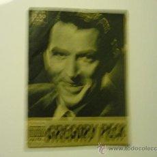 Cine: REVISTA IDOLOS DEL CINE GREGORY PECK .- NUM.36 2,5O PTS.. Lote 33527242