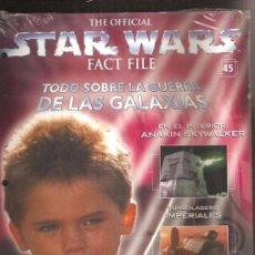 Cine: STAR WARS FACT FILE 45. Lote 33547554