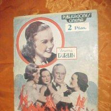 Cine: TRES DIABLILLOS. DEANNA DURBIN. PUBLICACIONES CINEMA EDICIONES EXTRARODINARIAS SERIE EXPLENDOR *. Lote 33635453