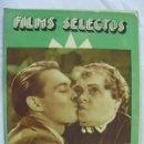 Cine: FILMS SELECTOS. AÑO IV. Nº 126. 11 MARZO 1933. Lote 157367169
