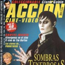 Cine: ACCION N. 1205 MAYO 2012 - EN PORTADA: SOMBRAS TENEBROSAS (NUEVA). Lote 110830180