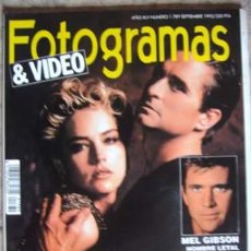 Cine: FOTOGRAMAS Nº 1.789 SEPTIEMBRE 1992. Lote 33865599