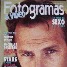 Cine: FOTOGRAMAS Nº 1.782 FEBRERO 1992. Lote 33865914