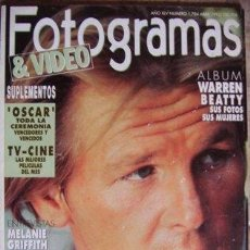 Cine: FOTOGRAMAS Nº 1.784 ABRIL 1992. Lote 33866060