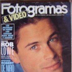 Cine: FOTOGRAMAS Nº 1.765 JULIO-AGOSTO 1990. Lote 33866276