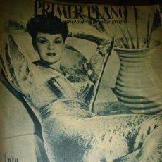 Cine: REVISTA PRIMER PLANO, AÑO VI, Nº 248, 1945, JANE WYMAN, ARMANDO CALVO, JOSE NIETO, LEO CARRIL. Lote 33918376