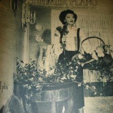 Cine: REVISTA PRIMER PLANO, AÑO VI, Nº 240, 1945, MYRNA LOY, JHON HALL, INGRID BERGMAN, CONCHITA MONTES. Lote 33919060