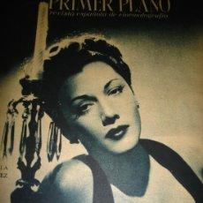 Cine: REVISTA PRIMER PLANO, AÑO VI, Nº 228, 1945, MARIA MONTEZ, MARINA RIED, JUDY GARLAND, BENITA HUME. Lote 33920107