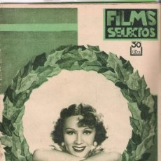 Cine: REVISTA AÑO 1934 Nº238 FILMS SELECTOS. Lote 33930468