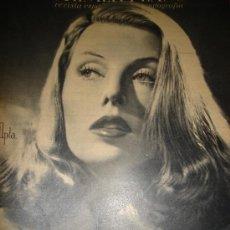 Cine: REVISTA PRIMER PLANO, 1944, AÑO V, Nº 179, MERY MARTÍN, MIGUEL LIGERO, ARMANDO CALVO, CRISTINA SÖDER. Lote 34087864
