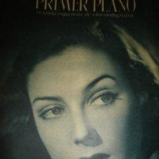Cine: REVISTA PRIMER PLANO, 1944, AÑO V, Nº 182, NÚMERO ESPECIAL, GUILLERMINA GRIN, JULIO REY DE LAS HERAS. Lote 34087900
