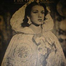 Cine: REVISTA PRIMER PLANO, 1944, AÑO V, Nº 186, AMPARITO RIVELLES, MARIANO ASQUERINO, RAFAEL GIL. Lote 34087943