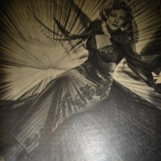 Cine: REVISTA PRIMER PLANO, 1944, AÑO V, Nº 190, KAG WILLIAMS, ANTON WOLBROOK, LESLIE HOWARD. Lote 34088027