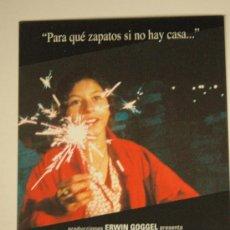 Cine: POSTAL DE CINE - LA VENDEDORA DE ROSAS - VICTOR GAVIRIA. Lote 34201504