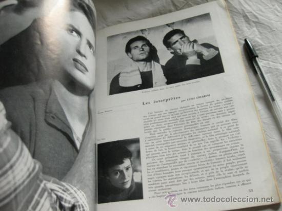 Cine: REVISTA DE CINE ITALIANO CINEMA ITALIEN 1945 - 1951 - Foto 2 - 34268085