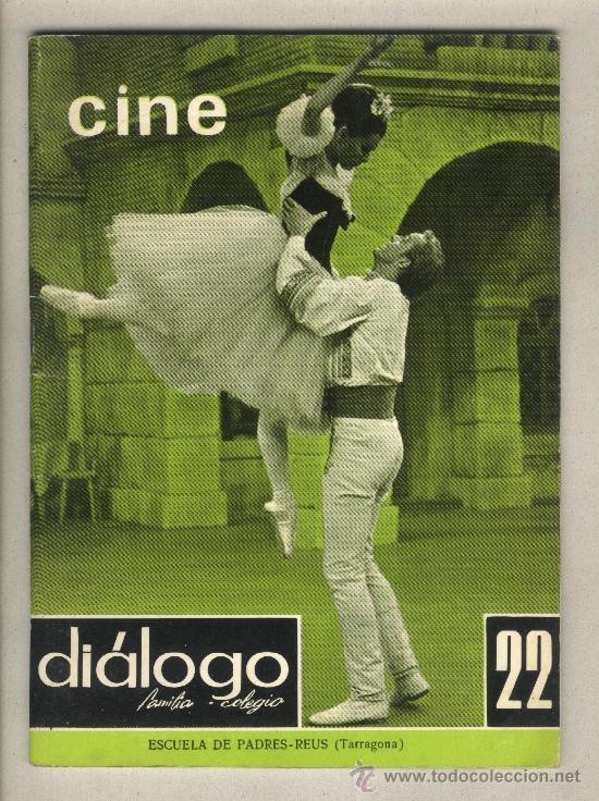 REVISTA DIÁLOGO FAMILIA-COLEGIO.CINE. EDUCACIÓN CINEMATOGRÁFICA EN BACHILLERATO.ESCUELA PADRES REUS (Cine - Revistas - Otros)