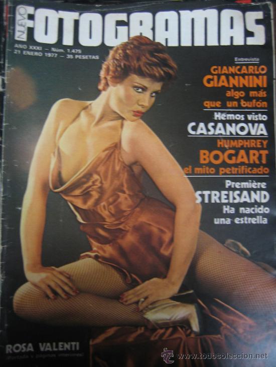 REVISTA FOTOGRAMAS Nº 1475 ROSA VALENTI (Cine - Revistas - Fotogramas)