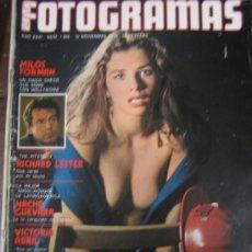 Cine: REVISTA FOTOGRAMAS Nº 1465 VICTORIA ABRIL NACHA GUEVARA. Lote 34455104
