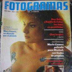 Cine: REVISTA FOTOGRAMAS Nº 1459 MARY FRANCIS. Lote 34455222