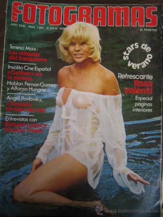 REVISTA FOTOGRAMAS Nº 1447 ROSA VALENTI (Cine - Revistas - Fotogramas)