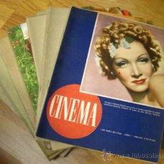 Cine: COLECCION DE LA ANTIGUA REVISTA ESPAÑOLA CINEMA - 47 NUMEROS - 1946 A 1948. Lote 39307154