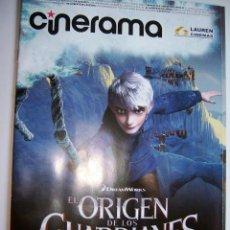Cine: REVISTA CINERAMA * LAUREN CINEMAS * NOVIEMBRE 2012. Lote 34532395