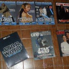 Cine: STAR WARS. LOTE CINEMANIA ATAQUE DE LOS CLONES. Lote 34594653