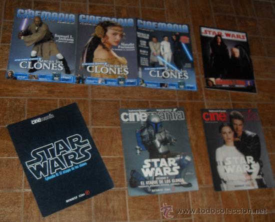 Cine: STAR WARS. lote Cinemania Ataque de los clones - Foto 2 - 34594653