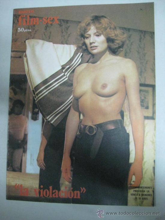 NUEVO FILM-SEX - Nº 8 - AÑO 1977 - MARY FRANCIS PORTADA (Cine - Revistas - Otros)