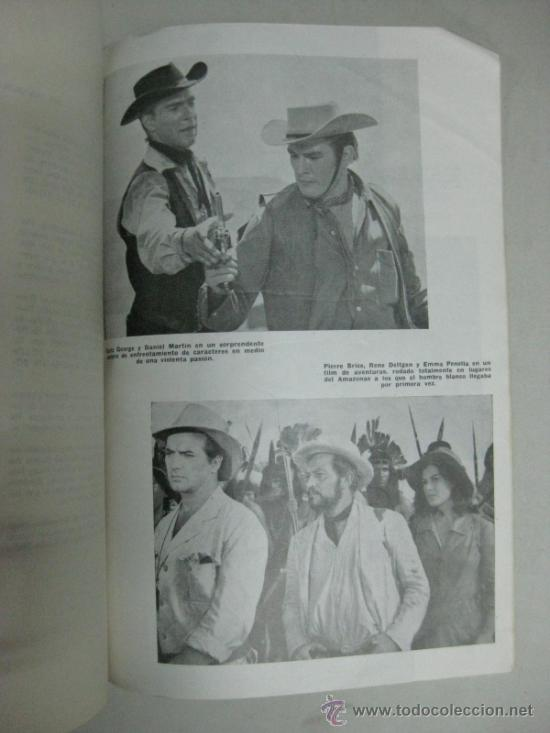 Cine: NOTICIARIO - PRESS-BOOK DEL FILM DE VITTORIO COTTAFAVI - LOS CIEN CABALLEROS - Foto 5 - 34602689