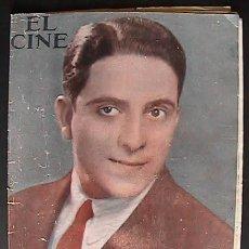 Cine: REVISTA EL CINE, BARCELONA 7/7/1930, PORTADA ROBERTO REY,. Lote 34627928