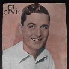 Cine: REVISTA EL CINE, BARCELONA 3/7/1930, PORTADA CHARLES KING,. Lote 34627941
