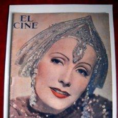 Cine: EL CINE - GRETA GARBO EN MATA-HARI- Nº ESPECIAL ABRIL 1932. Lote 34646188