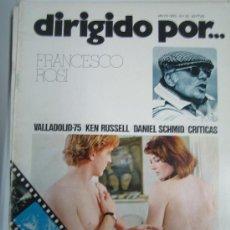 Cine: LOTE DE 4 REVISTAS DIRIGIDO POR.... Lote 34652045