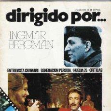 Cine: LOTE DE 4 REVISTAS DIRIGIDO POR.... Lote 34652071
