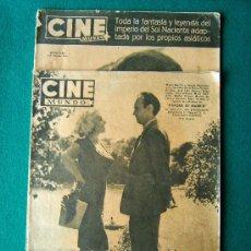 Cine: CINE MUNDO - REVISTA CINEMATOGRAFICA DE INFORMACION MUNDIAL - Nº 346 Y 361 - MUY ILUSTRADAS - 1958. Lote 34755077