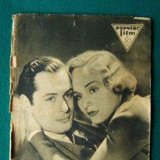 Cine: POPULAR FILM - REVISTA DE CINE Nº 327 - MUY ILUSTRADA CON FOTOS, PROPAGANDAS Y DIBUJOS - 1932. Lote 34756424