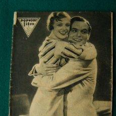 Cine: POPULAR FILM - REVISTA DE CINE Nº 326 - MUY ILUSTRADA CON FOTOS, PROPAGANDAS Y DIBUJOS - 1932 . Lote 34756506
