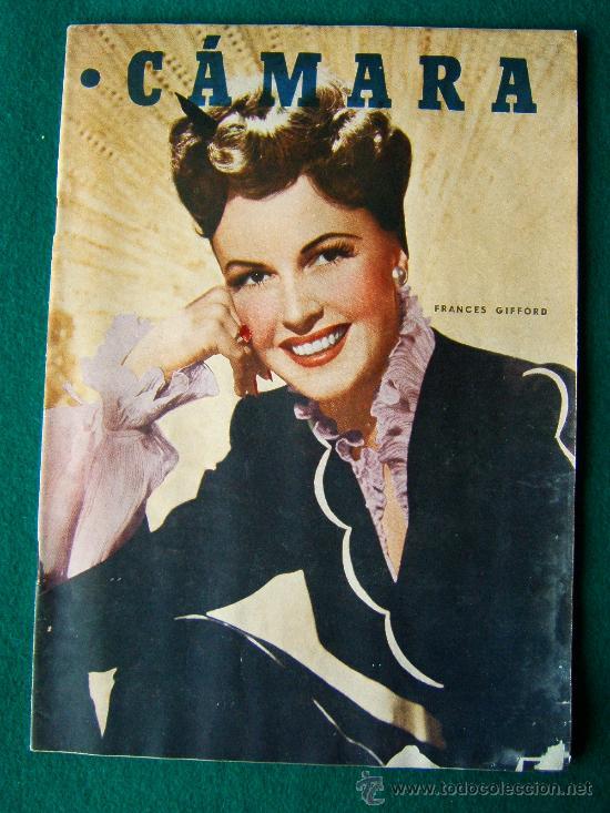 CAMARA - REVISTA CINEMATOGRAFICA ESPAÑOLA Nº 126 - BONITAS PROPAGANDAS Y FOTOS - 1948 (Cine - Revistas - Cámara)