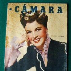 Cine: CAMARA - REVISTA CINEMATOGRAFICA ESPAÑOLA Nº 126 - BONITAS PROPAGANDAS Y FOTOS - 1948. Lote 34757706