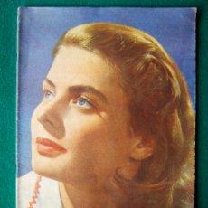 Cine: IMAGENES - REVISTA CINEMATOGRAFIA - Nº 21 - ILUSTRADA CON FOTOS B/N, COLOR Y PROPAGANDAS - 1947. Lote 34759179