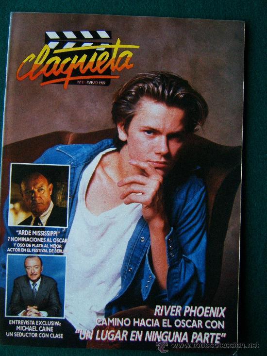 CLAQUETA - REVISTA DE CINE - Nº 1 - DIRECTOR ANTONIO LLORENS OLIVE - ILUSTRADA - 1990 - 1ª EDICION (Cine - Revistas - Claqueta)