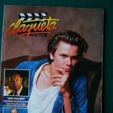 Cine: CLAQUETA - REVISTA DE CINE - Nº 1 - DIRECTOR ANTONIO LLORENS OLIVE - ILUSTRADA - 1990 - 1ª EDICION. Lote 34847596