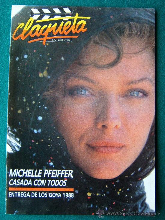 CLAQUETA - REVISTA DE CINE - Nº 2 - DIRECTOR ANTONIO LLORENS OLIVE - ILUSTRADA - 1989 - 1ª EDICION (Cine - Revistas - Claqueta)