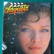 Cine: CLAQUETA - REVISTA DE CINE - Nº 2 - DIRECTOR ANTONIO LLORENS OLIVE - ILUSTRADA - 1989 - 1ª EDICION. Lote 34847634