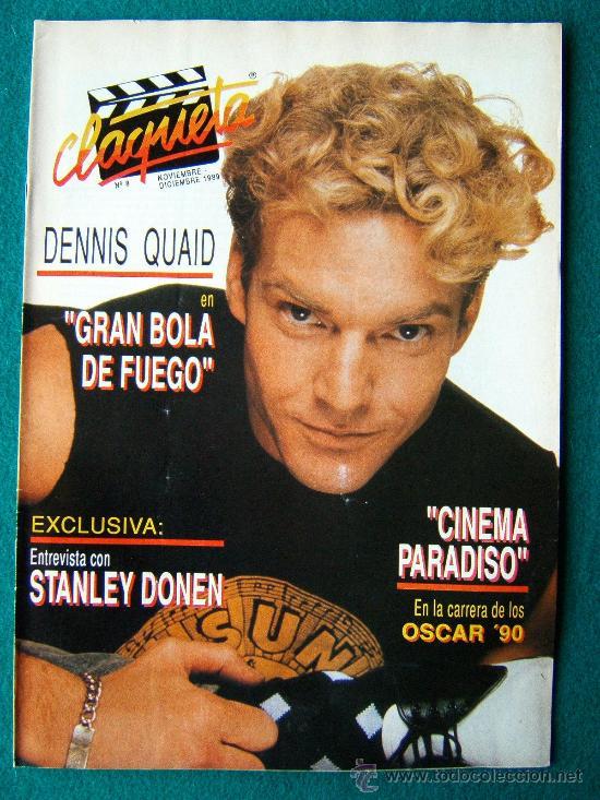 CLAQUETA - REVISTA DE CINE - Nº 8 - DIRECTOR ANTONIO LLORENS OLIVE - ILUSTRADA - 1989 - 1ª EDICION (Cine - Revistas - Claqueta)