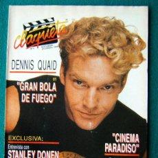 Cine: CLAQUETA - REVISTA DE CINE - Nº 8 - DIRECTOR ANTONIO LLORENS OLIVE - ILUSTRADA - 1989 - 1ª EDICION. Lote 34847715